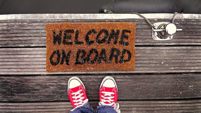 welcome on board - aprender línguas